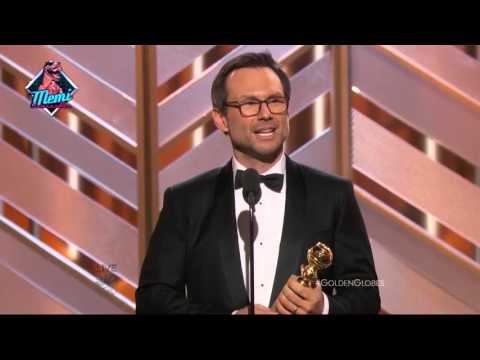 Golden Globes 2016: Christian Slater | Mejor Actor de Reparto MR. ROBOT (Subtitulado)