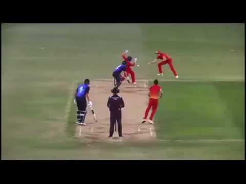 Taun Harrison & Wesley Madhevere (Zimbabwe U19 Offies)