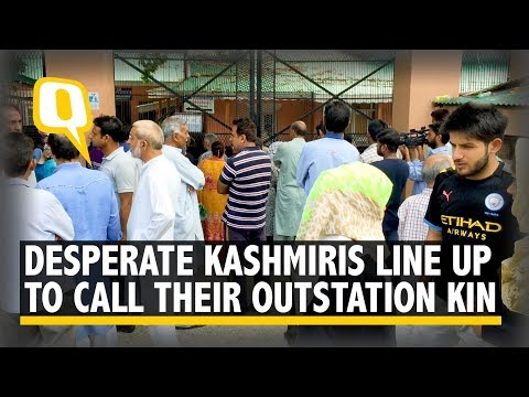 Srinagar Ground Report: Waiting 4 Hours for a 4-Second Phone Call | The Quint