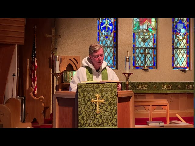 July 19, 2020 the 7th Sunday After Pentecost