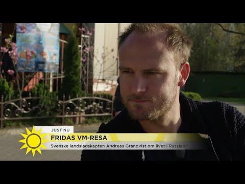 """Fridas VM-resa - Andreas Granqvist lämnar Ryssland """"Jag är nöjd nu"""" - Nyhetsmorgon (TV4)"""