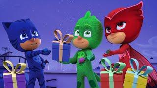 Герои в масках Гекко спасает Рождество Сборник 120 минут мультики для детей