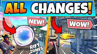 *NEW* RIFT ZONES + ALL TILTED TOWN SECRETS, LEAKS, and CHANGES! (Fortnite Season 10 Update)