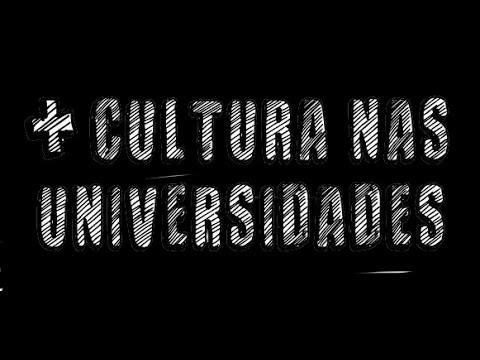 Webconferência - Mais Cultura nas Universidades - MinC/MEC