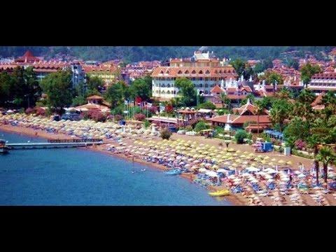 A tourist paradise in Marmaris : Icmeler - Marmaris / Turkey