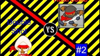 Flash Bomb Ninja Vs Double Shot Ninja - Btd Battles - Versus Series Ep2