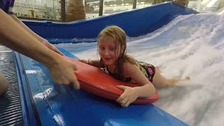 Little Girl FAILS on the FlowRider
