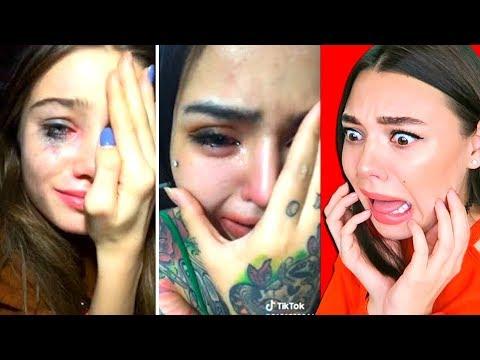 Они Плачут На Камеру! / Очень странный плачущий Челлендж из ТИК ТОК