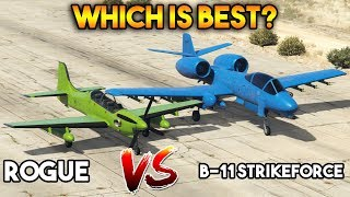 GTA 5 ONLINE : B-11 STRIKEFORCE VS ROGUE (WHICH IS BEST?)