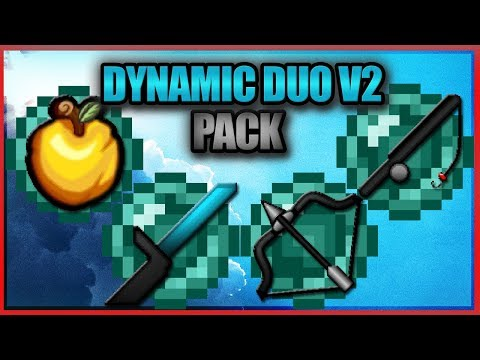 ★ Minecraft PvP Texture Pack l Dynamic Duo v2 [1.7+1.8] ★