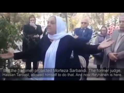 Memorial of Reyhaneh Jabbari on her first anniversary 2015