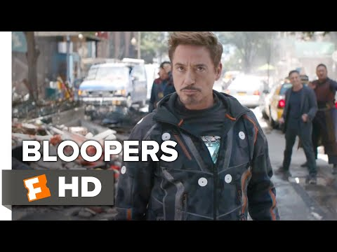 Avengers: Infinity War Bloopers #1 (2018) | Movieclips Extras