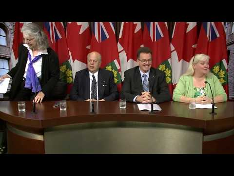 """Queen's Park: OWN """"Living in Place"""" event (Oct 4, 2017)"""