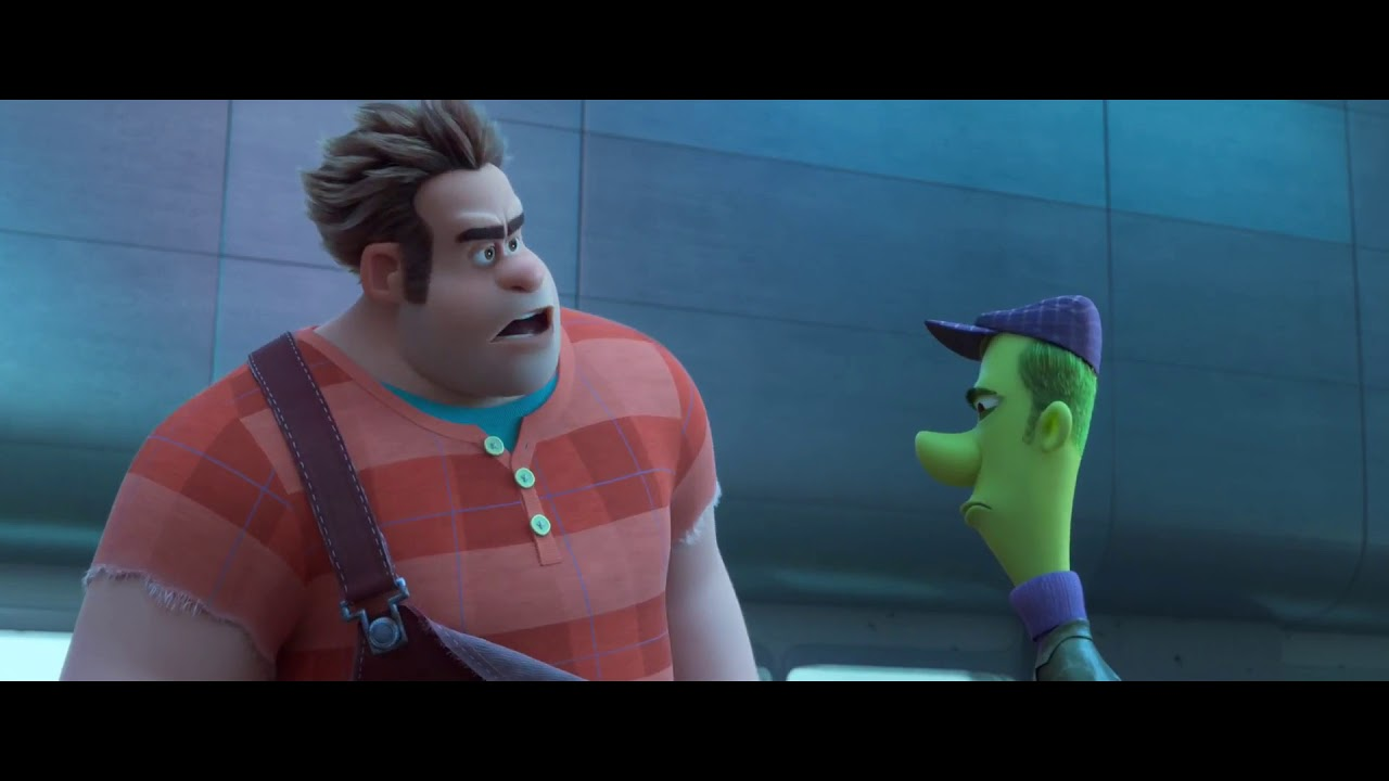 Ralph Breaks The Internet 2018 Ralph And Spamley Go To Darknet Scene 1 Clip Series Blu Ray Youtube