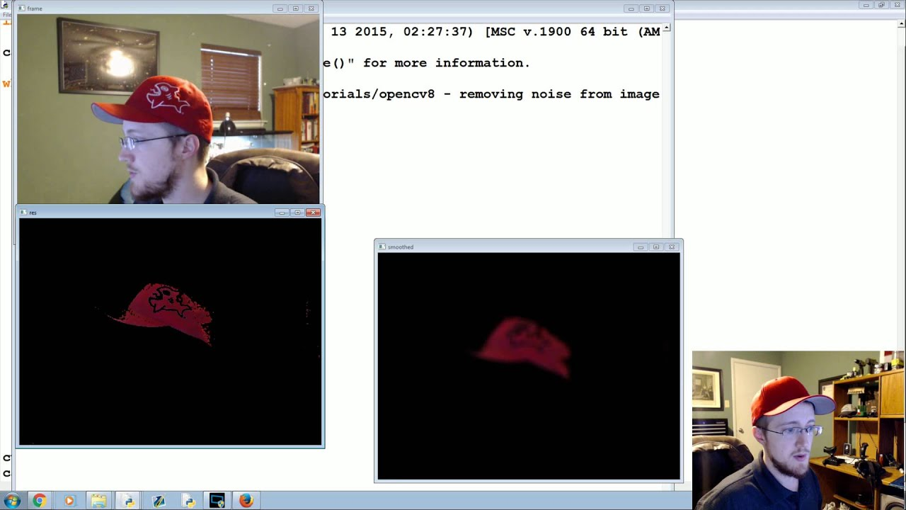 Blurring and Smoothing - OpenCV with Python for Image and Video Analysis 8