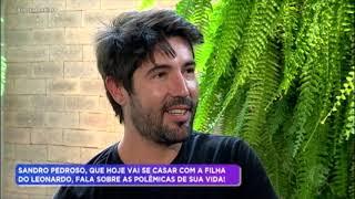 Sandro Pedroso esclarece polêmicas sobre relacionamento com Jéssica Costa