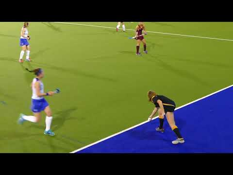 Scotland Ladies  v QLD Match .Pre  Commonwealth Games friendly hockey match