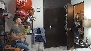 SURPRISING MY GIRLFRIEND!