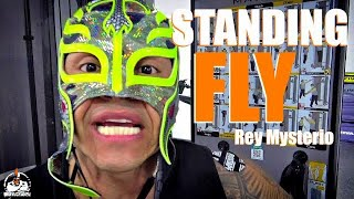 Rey Mysterio Standing Chest Fly (INCLINE!)