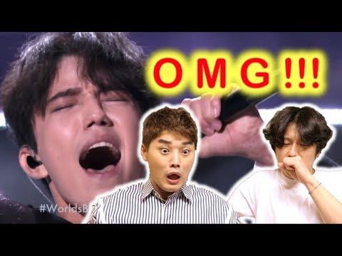 Реакция известного корейского актера!! - Dimash's Final World's Best Performance, димаш кудайберген