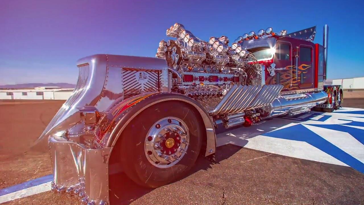 4 000 Hp Thor24 Custom Truck Hammers For Us 12 Million In Saudi Arabia Driving