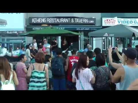 Taste of Danforth in Toronto.  Aug 2016.  Pt 11 of 11.