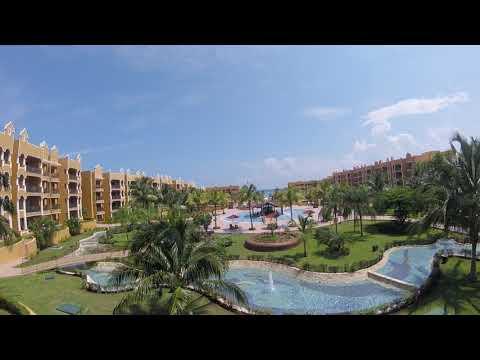 The Royal Haciendas 1 Bedroom Suite Balcony View-Playa del Carmen, Mexico