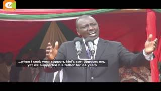 War of words between DP Ruto and Gov Ruto escalates