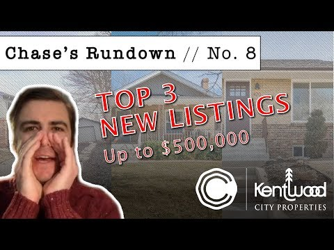 Chase's Rundown No. 8 - Denver's Top 3 Listings Up to $500,000