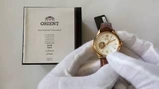 Orient fdb0a003w0 часы женские механические видео обзор