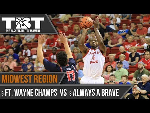 2017 TBT Midwest Region Recap - #6 Fort Wayne Champs vs #3 Always a Brave
