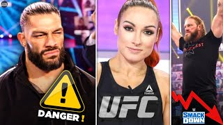 Roman Reigns In Danger Kevin Owens Calls Paul Heyman Becky Lynch In UFC SmackDown Ratings