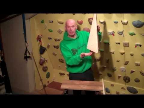 HOW TO MAKE A CLIMBING WALL VOLUME!