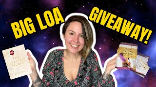 MY BIG LAW OF ATTRACTION GIVEAWAY COMPETITION!!!! MANIFESTATION PRIZES!