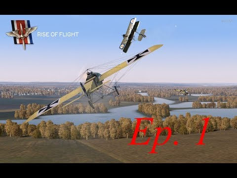 Rise of Flight (Fokker E-III Career) - 01 - Welcome To The Front!