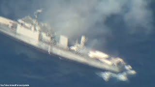US Military SINKS SHIP in US Military training Exercise Rimpac 2018