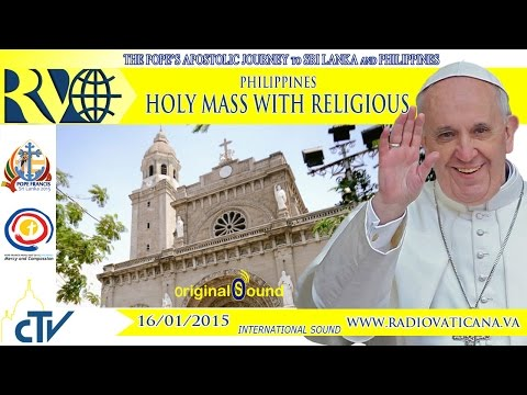 Pope in Philippines - Holy Mass - 2015.01.16