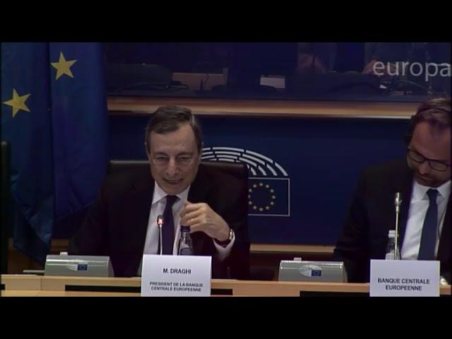 Intervención comparecencia Mario Draghi