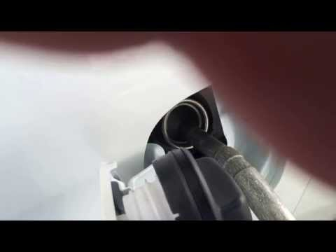 Хонда СРВ 2012 год, полная заправка бака