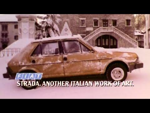 Fiat Ritmo (Strada) - pubblicità americana