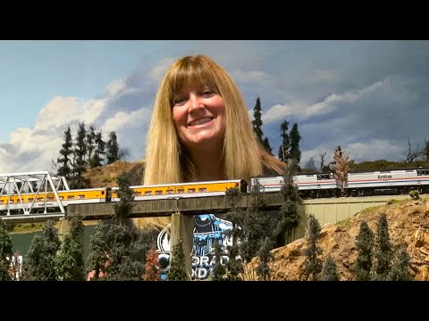 Denver & Rio Grande Ski Train in HO Scale!