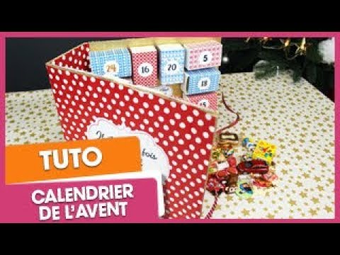 no l tuto calendrier de l 39 avent original youtube. Black Bedroom Furniture Sets. Home Design Ideas