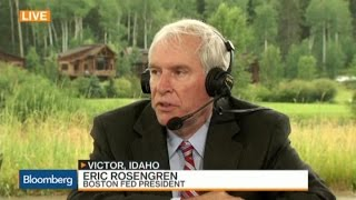 Rosengren: It May Be Appropriate to Raise Rates This Fall