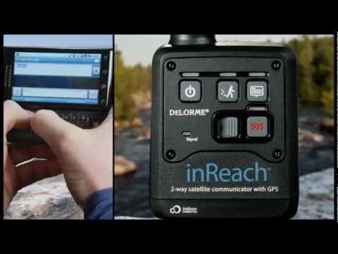 DeLorme inReach 2-way Satellite Communicator