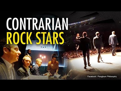Contrarian public intellectuals: The new rocks stars?