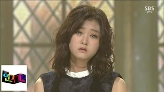 [Shin Ji-hoon] Crying @ popular song Inkigayo 140907
