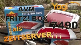 AVM FRITZ! Box 7490: Zeitserver einrichten / NTP-Server im lokalen Netzwerk