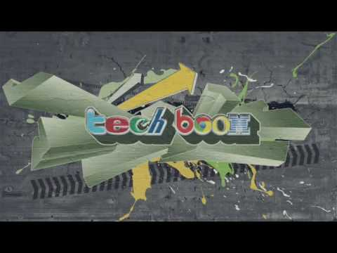 Graffiti Tech Boom Logo Reveal