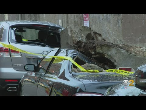 Lance Houston - Rogers Park Cars Damaged Overnight After Concrete Falls From Viaduct