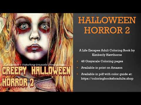 Image result for Scary Horror Coloring Pages | Halloween coloring ... | 360x480